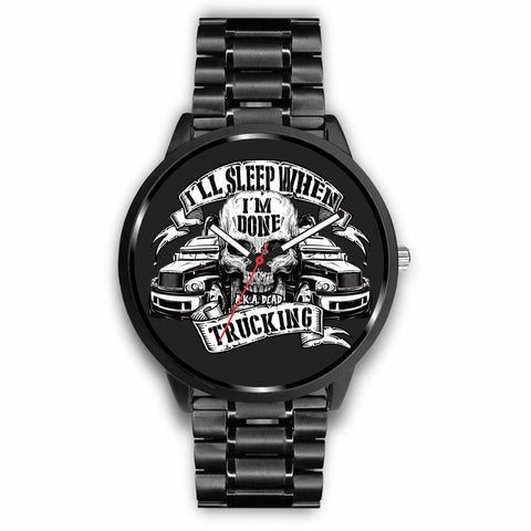 Trucker Skull Custom-Designed Watch - Mix Web Shop