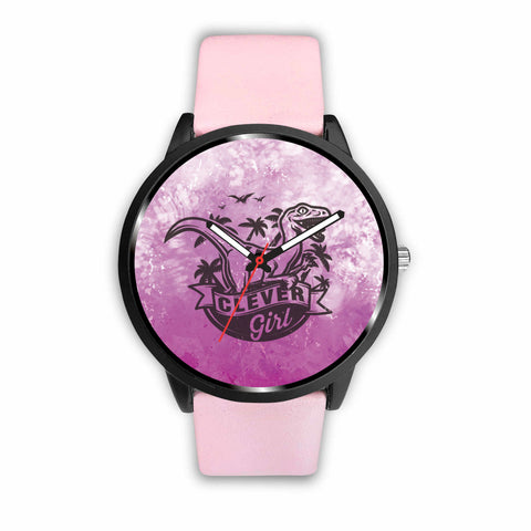 Pink Dino Custom-Designed Watch - Mix Web Shop