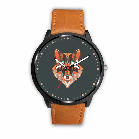 Red Wolf Custom-Designed Watch