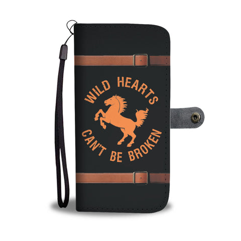 Wild Hearts Wallet Phone Case