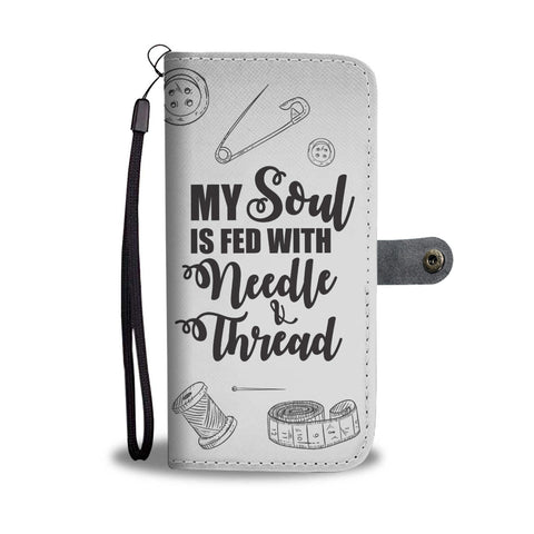 Sewing Soul Wallet Phone Case