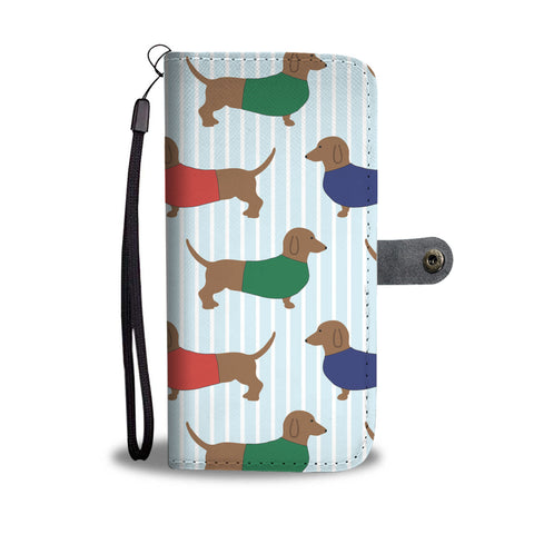Dachshund Dogs Wallet Phone Case