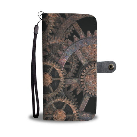 Steampunk Wallet Phone Case - Mix Web Shop