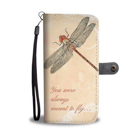 Dragonfly Wallet Phone Case - Mix Web Shop