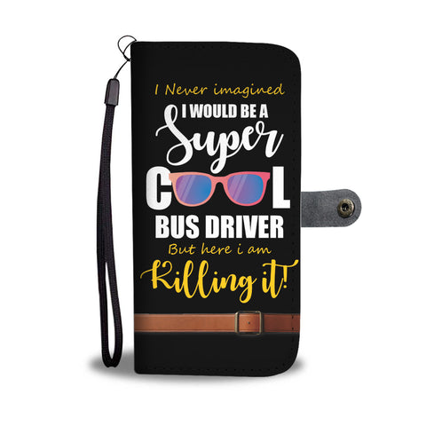 Cool Bus Driver Wallet Phone Case - Mix Web Shop