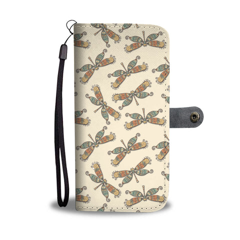 Dragonflies Wallet Phone Case
