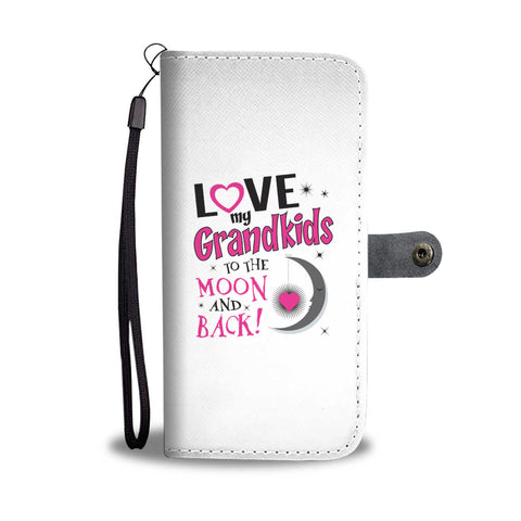 Love Grandkids Wallet Phone Case - Mix Web Shop
