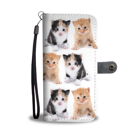 Cute Kittens Wallet Phone Case - Mix Web Shop