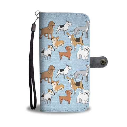 Awesome Dogs Wallet Phone Case - Mix Web Shop