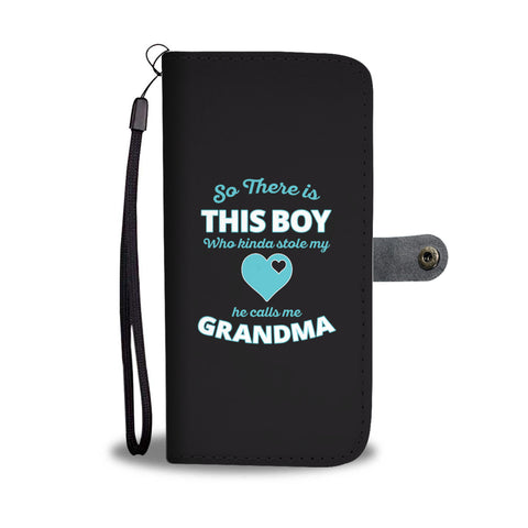 He Calls Me Grandma Wallet Phone Case - Mix Web Shop