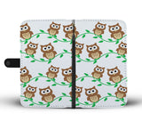 Cute Owls Wallet Phone Case - Mix Web Shop