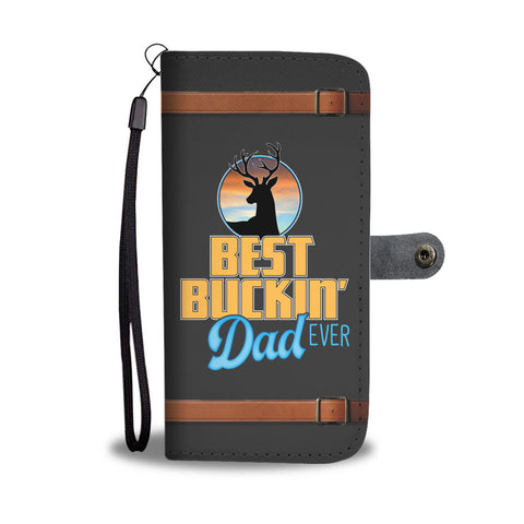 Best Buckin' Dad Ever Wallet Phone Case - Mix Web Shop