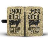 Cow Farmer Wallet Phone Case - Mix Web Shop