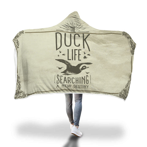 Duck Destiny Hooded Blanket - Mix Web Shop