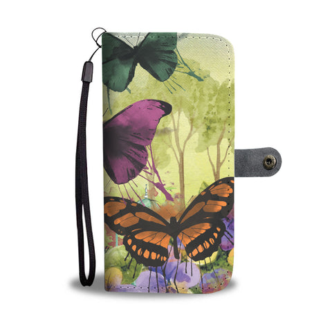 Butterflies Galore Wallet Phone Case - Mix Web Shop