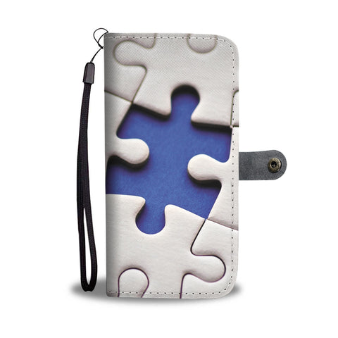 Autism Puzzle Wallet Phone Case - Mix Web Shop