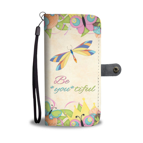 Beautiful Dragonfly Wallet Phone Case - Mix Web Shop