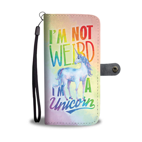 I'm A Unicorn Wallet Phone Case - Mix Web Shop