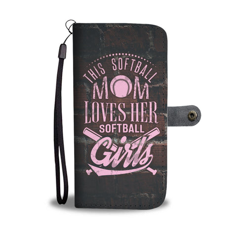 Softball Mom Wallet Phone Case - Mix Web Shop