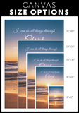 Christian Bible Verse Wall Art - I Can Do All Things
