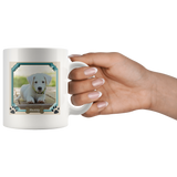 Dog Bone Pawprints Mug