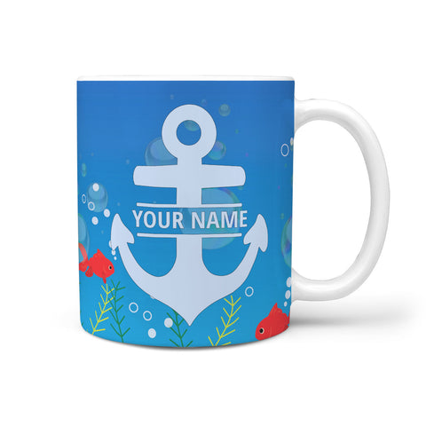 Custom Name Anchor Mug