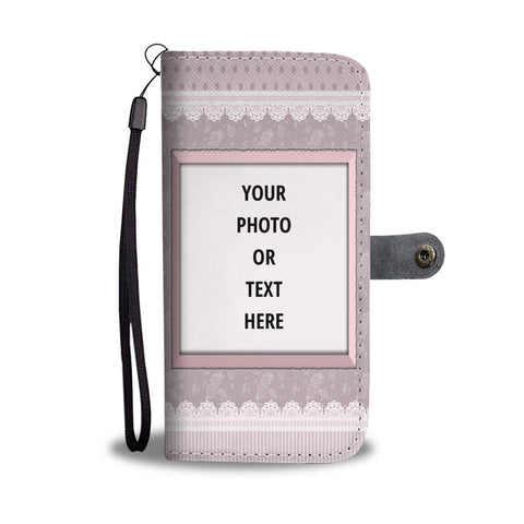 Lace Personalized Phone Case Wallet