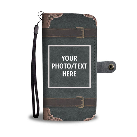 Country Western Personalized Wallet Phone Case