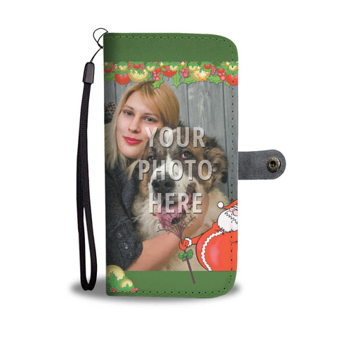 Santa Personalized Wallet Phone Case
