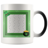 Personalized Photo Color-Changing Mug - St Patrick's Day