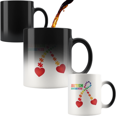 Autism Awareness Color Changing Mug