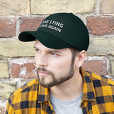 Dad Hat Embroidered Baseball Cap Make Lying Wrong Again