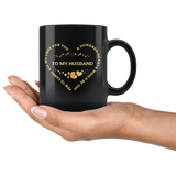 100 Hearts Husband Mug