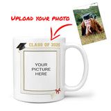 Personalized Photo Graduation Coffee Mug