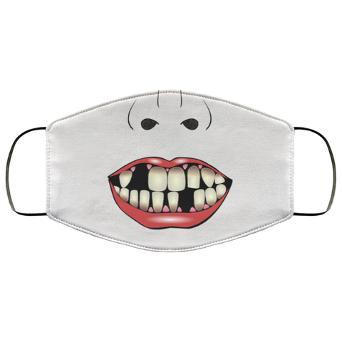 Funny Missing Teeth Face Mask