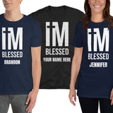 I'm Blessed Personalized Unisex T-Shirt