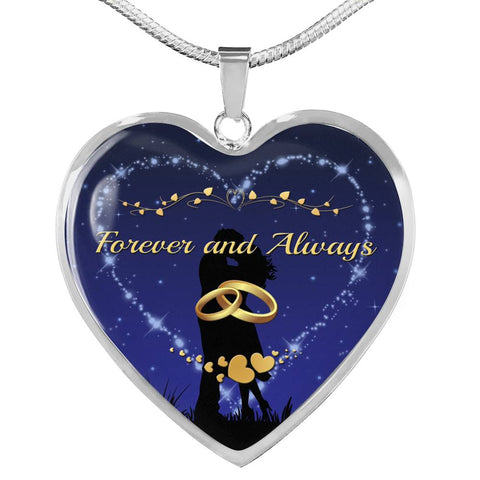 Forever and Always Heart Necklace