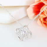 To My Wife Love Knot Necklace