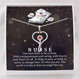 Stethoscope Necklace With Free Message Card