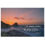 Christian Bible Verse Wall Art - Glory Of God