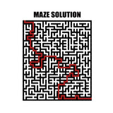 80 Printable Maze Puzzles For Kids and Adults - Digital Download