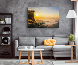 Let Your Light Shine Canvas Wall Art