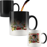 Personalized Christmas Photo Color Changing Mug