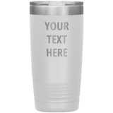 Personalized Laser Etched Tumbler - 20oz