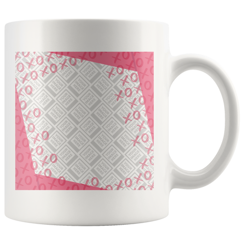 XOXOXO Valentine's Day Personalized 11oz Mug