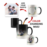 Personalized Photo Color Changing Mug - Butterfly Pastel