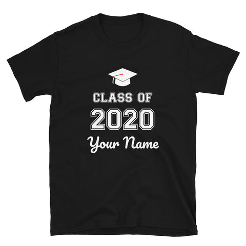 Class Of 2020 Personalized Unisex T-Shirt
