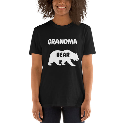 Personalized Grandma Bear T-Shirt