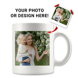 Personalized Photo 11oz Coffee Mug - White