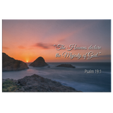 Christian Bible Verse Wall Art - Majesty Of God